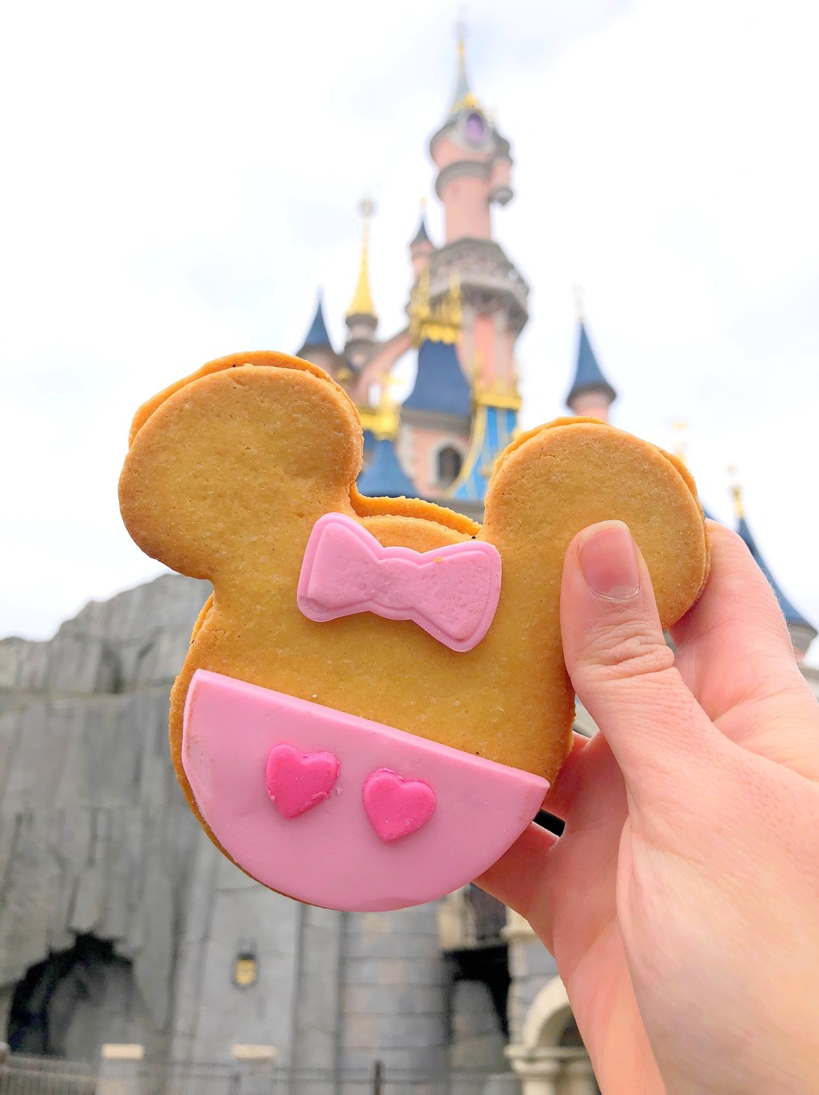 New Mouse-Shaped Cookies at Disneyland Paris!