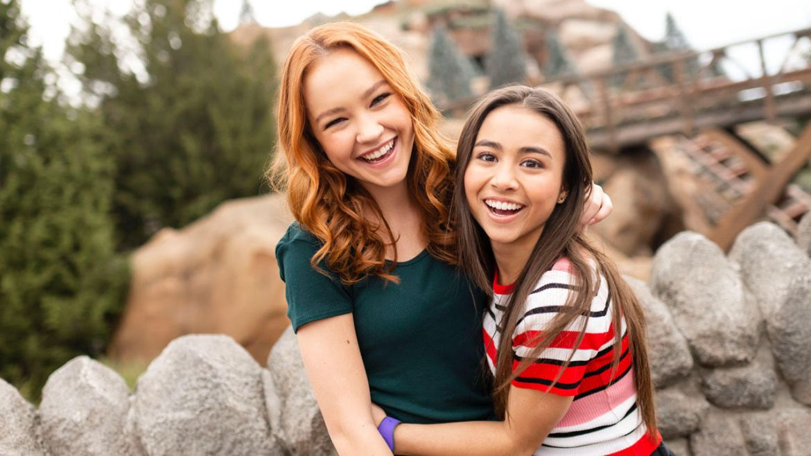 "Stars of Disney Channel's Live Action ""Kim Possible"" Visit Walt Disney World"