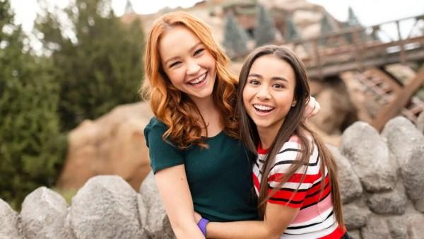 "Stars of Disney Channel's Live Action ""Kim Possible"" Visit Walt Disney World"