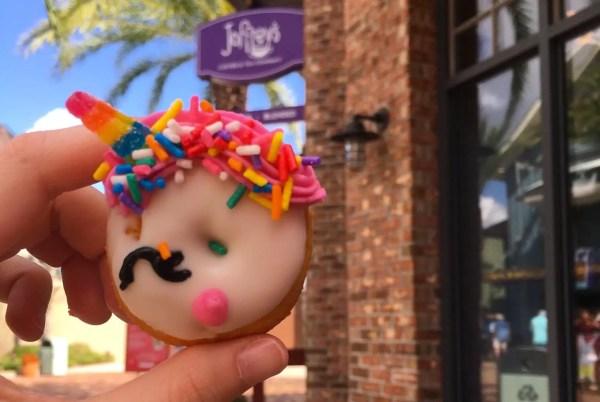 New Mini Donuts at Joffery's in Disney Springs