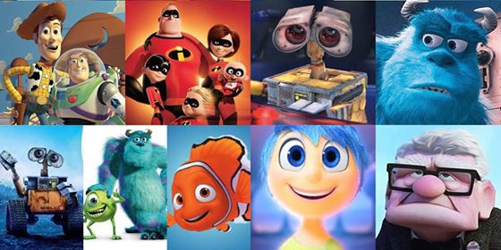 33 Years Of Pixar In 33 Seconds