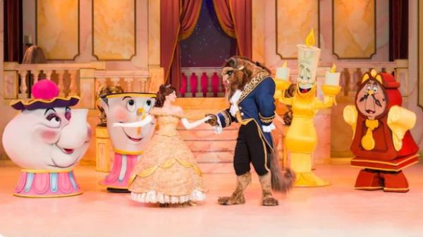 Beauty and the Beast – Live On Stage To Close For Refurbishment