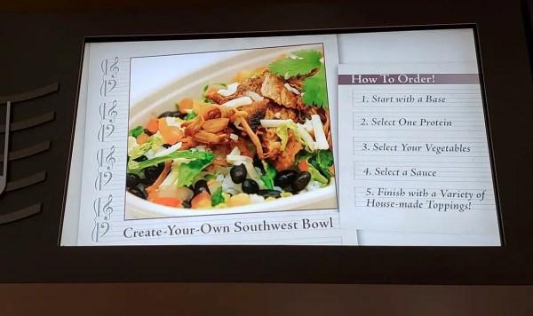 New Create Your Own Southwest Bowl At Intermission Café 1