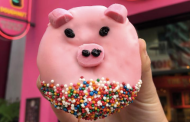 Year Of The Pig Doughnut At Universal Studios Hollywood