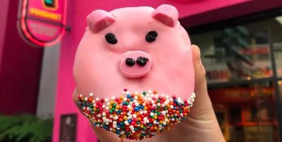 Year of the Pig Doughnut
