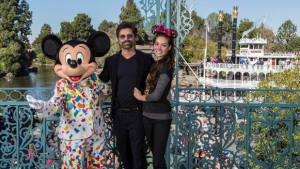 John Stamos and Wife Caitlin Celebrate First Anniversary at Disneyland Park 2