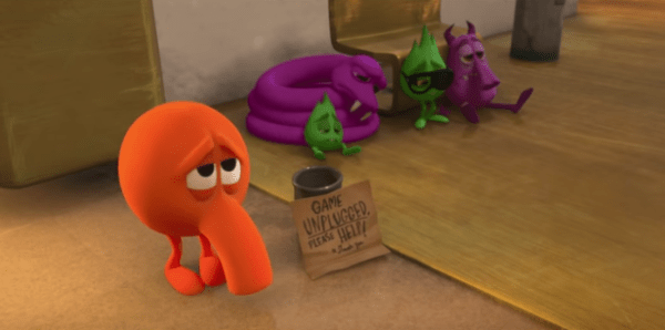 Check Out The Ralph Breaks The Internet Q*bert Deleted Scene 1