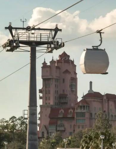 Disney Skyliner Test Run From Disney's Caribbean Beach Resort to Disney's Hollywood Studios 2