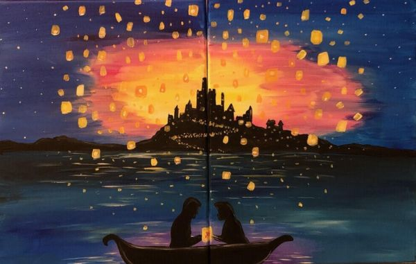 Boardwalk Inn Hosts Tangled Themed Disney Date Night for Valentine's Day