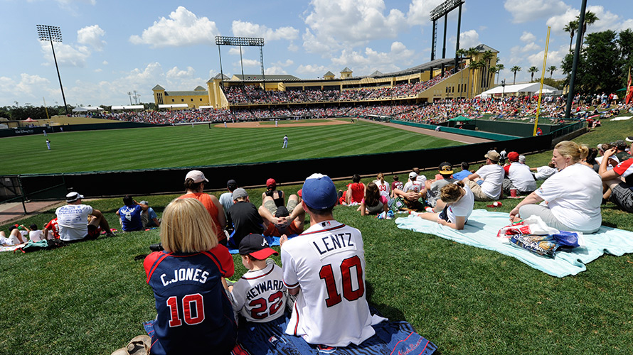 Atlanta Braves Final Season Of Spring Training At EPSN Wide World Of Sports