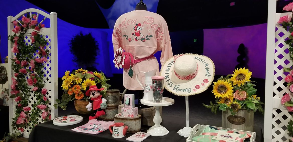 Minnie's Garden Party Collection Is Blooming For Flower And Garden Festival