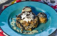 Cookies 'n Cream Bread Pudding Spotted at Disneyland Resort.