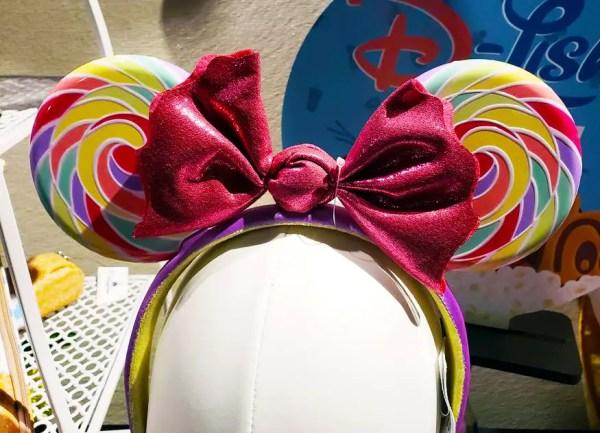 Sweet New Lollipop Minnie Ears Heading To Disney Parks Soon 2