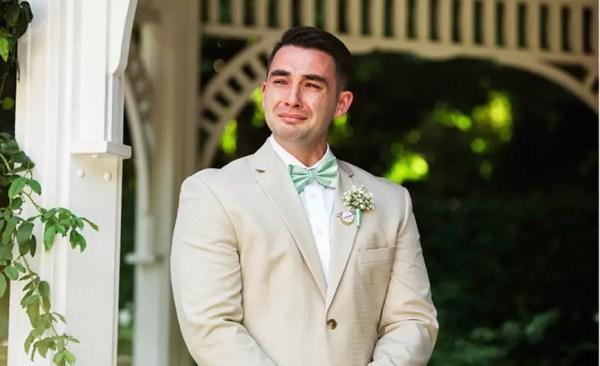 Disney Fairy Tale Weddings' Favourite Groom Reactions 10