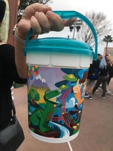 New Pixar Inspired Popcorn Bucket At Hollywood Studios 3