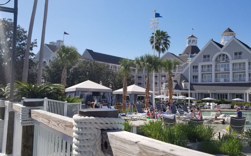 Poolside Cabanas Now at Yacht & Beach Club Resorts