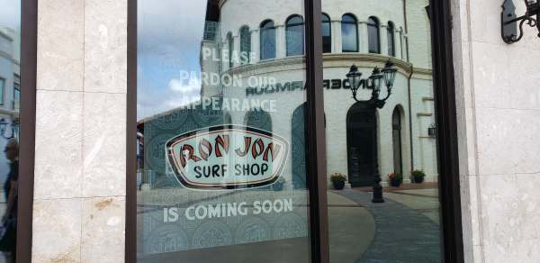 Construction Continues at Ron Jon Surf Shop Coming to Disney Springs