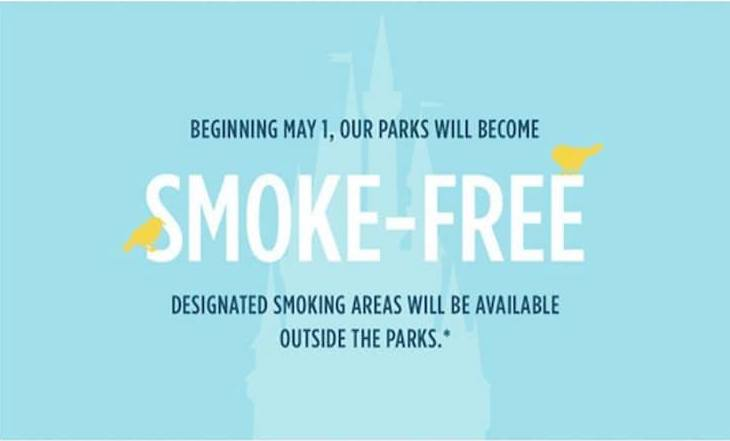 Disney Parks Removing Theme Park Smoking Areas and Limiting Stroller Sizes