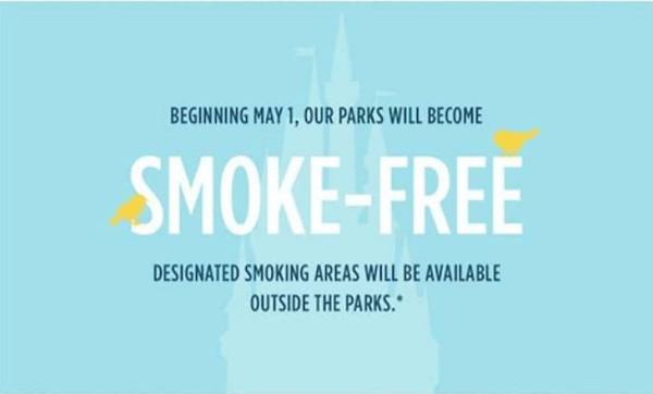 Disney Parks Removing Theme Park Smoking Areas and Limiting Stroller Sizes 1