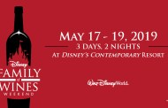 New Details on Family of Wines Weekend at Walt Disney World