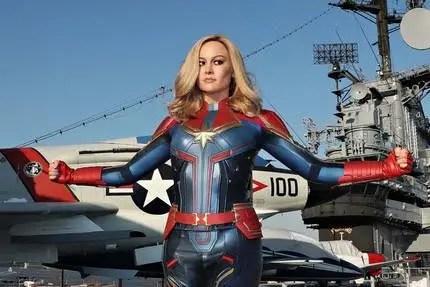 Brie Larson Greets Marvel Fans at CCXP in Brazil