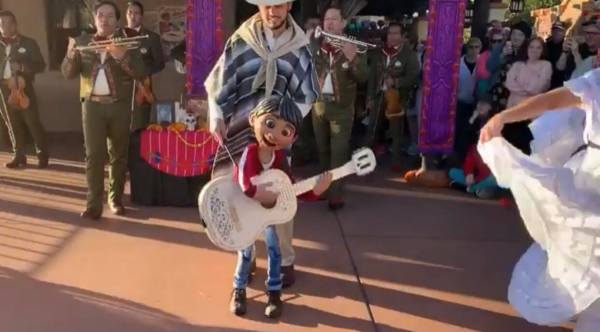 Miguel at Epcot