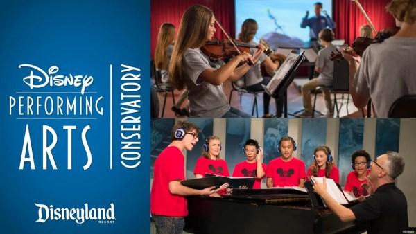 Disney Performing Arts Conservatory Returning to Disneyland Resort This Summer