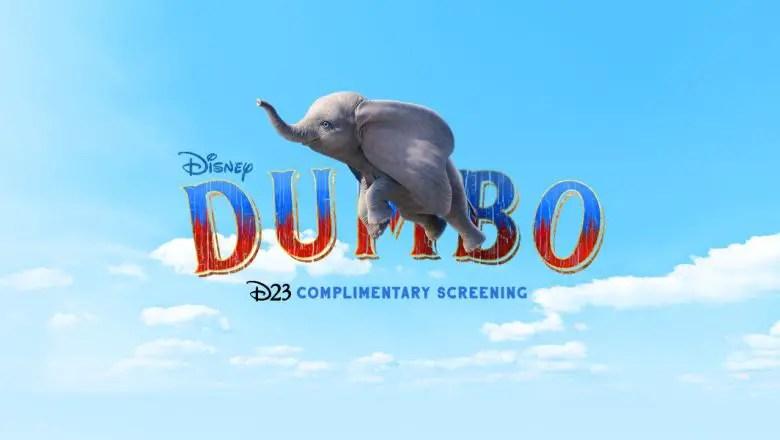 D23 Members Get Exclusive Screenings Of 'Dumbo'