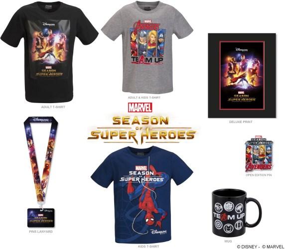 Marvel's Season of Super-Heroes Merchandise Released! 1