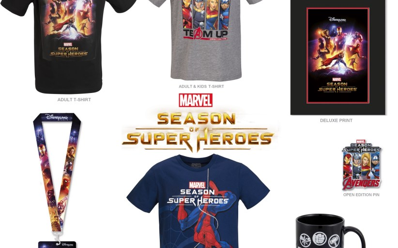 Marvel's Season of Super-Heroes Merchandise Released!