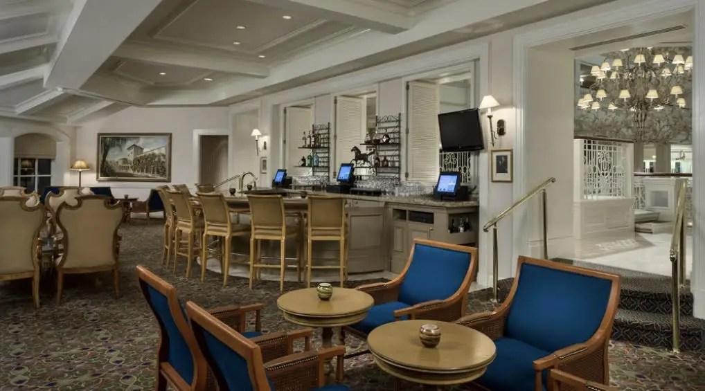 Mizner's Lounge at Disney's Grand Floridian Resort Closing for Refurbishment