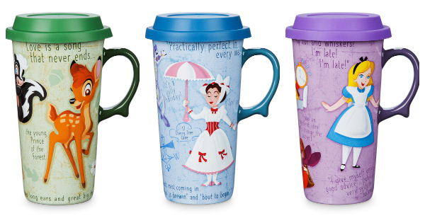 Get Your Morning Started With These Fun Disney Travel Mugs 1