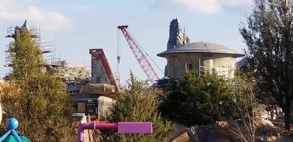 Construction Update: Star Wars: Galaxy's Edge at Disneyland and Walt Disney World
