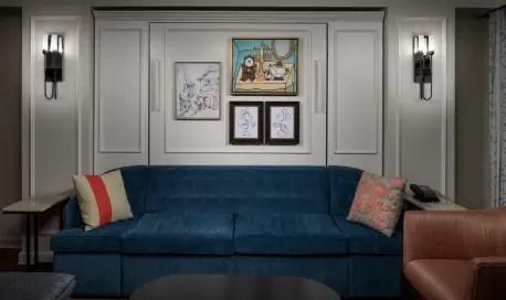 Interior Views and Concept Art for Disney's Riviera Resort