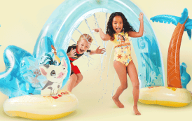 The New Moana Wave Sprinkler Is a Voyage of Fun