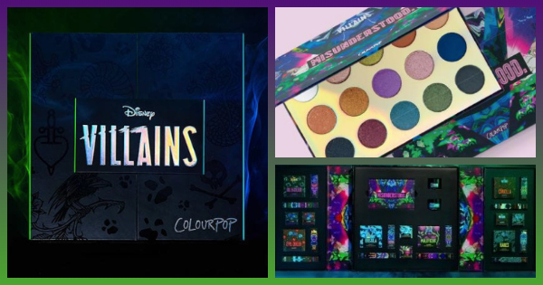 Wicked New Disney Villains Colourpop Collection 1