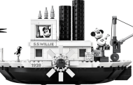 New LEGO Ideas Steamboat Willie Set Is Sailing In This April