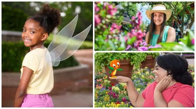New Epcot International Flower & Garden Festival Photo Opportunities.