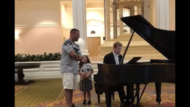 Beautiful Performance by a Guest Singing Ave Maria at Grand Floridian 1