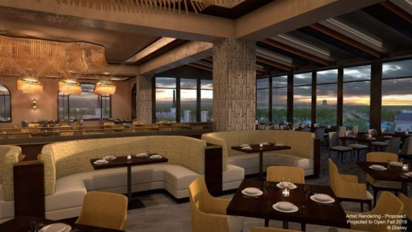 Topolino's Terrace Renderings