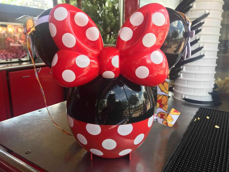New Minnie Mouse Balloon Popcorn Bucket Arrives At The Magic Kingdom