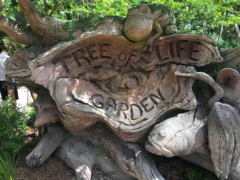 Tree of Life Garden Trail At Disney's Animal Kingdom Has Reopened