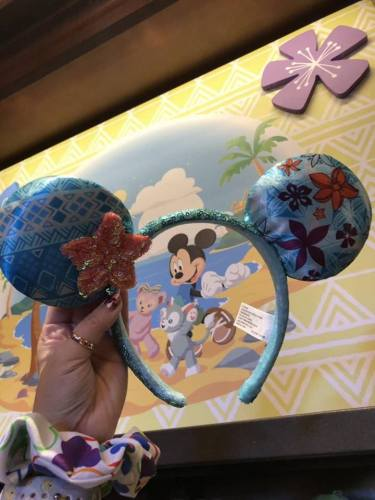 Stitch And Moana Steal The Show On The New Aulani Minnie Mouse Ears 2