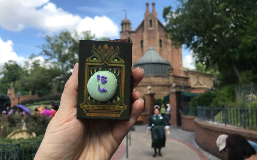 Haunted Mansion Specialty brownie will scare up your appetite