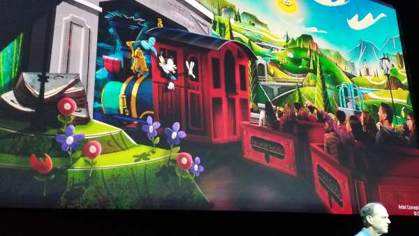 Concept Art for Mickey And Minnie's Runaway Railway Released 4