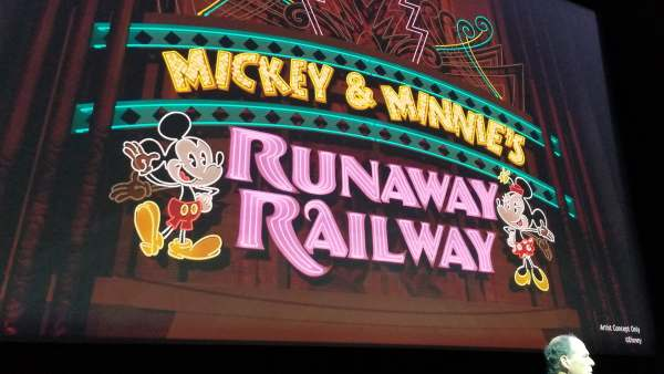 Concept Art for Mickey And Minnie's Runaway Railway Released 2