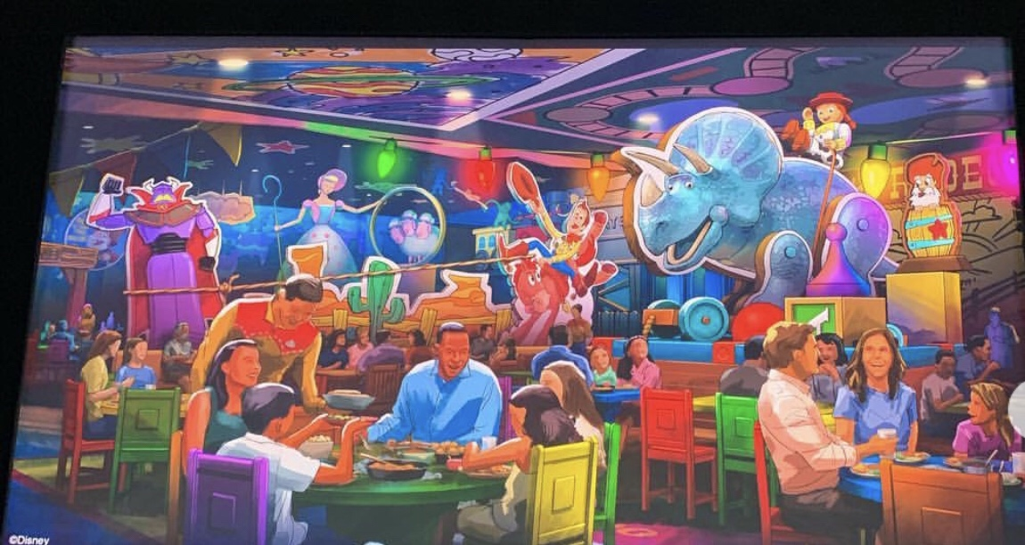 New Table Service Restaurant coming to Toy Story Land named Roundup Rodeo BBQ