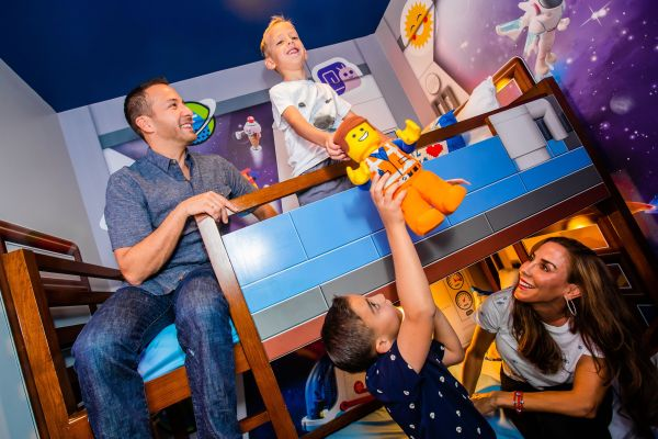 Backstreet Boys' Howie Dorough First to Stay in THE LEGO MOVIE Themed Rooms at LEGOLAND Florida Resort 2