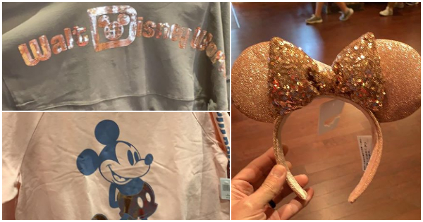 Say Hello To The New Briar Rose Gold Collection At The Disney Parks
