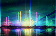Behind the scenes sneak peek at the all new Epcot Forever Nighttime Spectacular